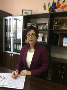 """Mesaj de felicitare pentru doamna VIȘNIOVAIA Tatiana, directorul Colegiului """"Mihai Eminescu"""" din Soroca"""