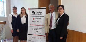 """Prezentarea de succes a raportului final în cadrul proiectului ,,See-me II"""" organizat de către Folkuniversitetet Suedia."""