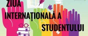 """Ziua Internațională a Studenților sărbătorită în Colegiul """"Mihai Eminescu"""" din Soroca"""