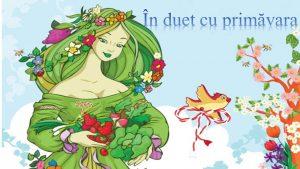 """Spectacol muzical ,,În duet cu primăvara""""."""