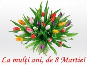 Mesaj de felicitare cu ocazia Sărbătorii de 8 Martie